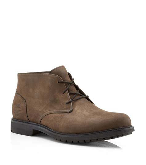 chuka boots timberland stormbuck chukka boot in brown for lyst