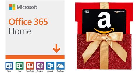 microsoft office  home  amazon gift card