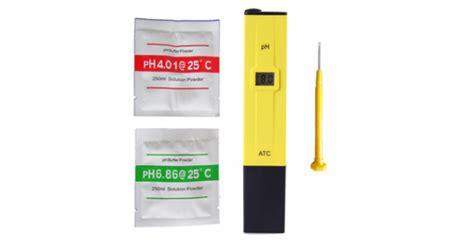 Jual Alat Ukur Ph Air jual ph meter air alat ukur air hidroponik ph 009 i a