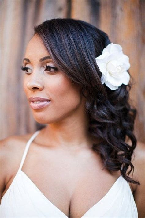 Black Wedding Hairstyles For Brides by 50 Superb Black Wedding Hairstyles
