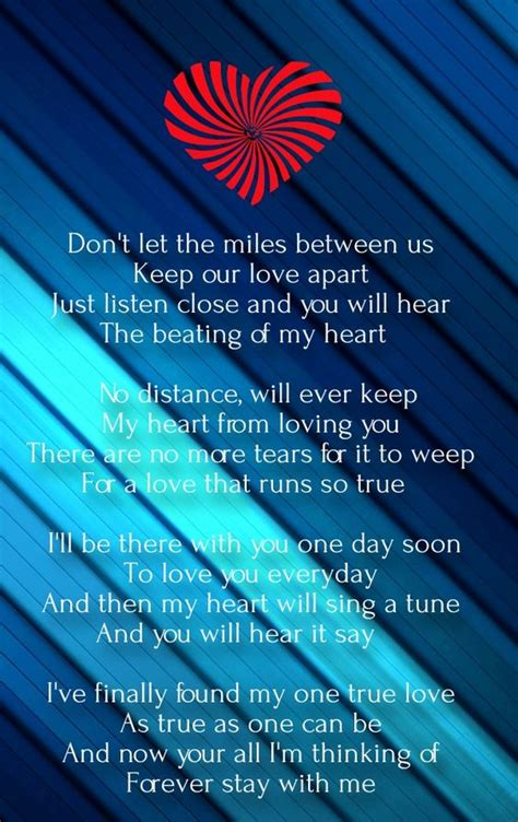 valentines quotes for distance relationship distance poems for him from the