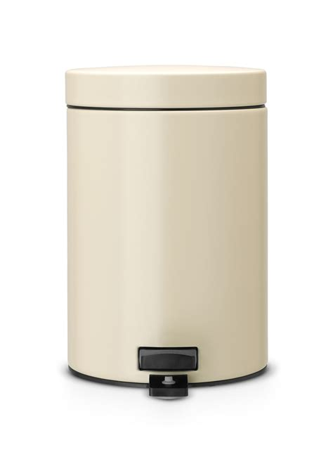 brabantia bathroom bin brabantia kitchen bathroom 3 litre small almond waste