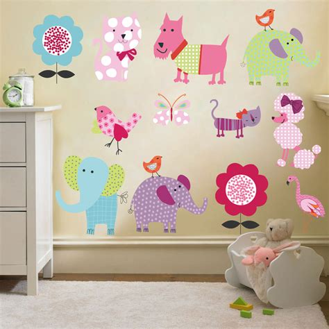 wall stickers for childrens bedroom childrens themed wall decor room stickers sets bedroom decal nursery