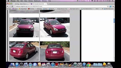 craigslist atlanta ga local  cars  dealerships