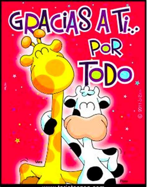 imagenes de jirafas con mensajes de amor gracias por todo