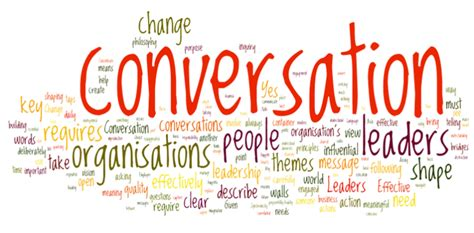 building relationships one conversation at a time a guide for work and home books talking it out the new conversation centered leadership