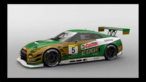 Gran Turismo Sport Nissan Gtr Gr 3 Livery Castrol