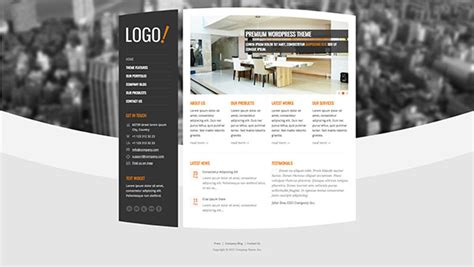 theme wordpress vertical 33 premium wordpress themes with vertical menus naldz