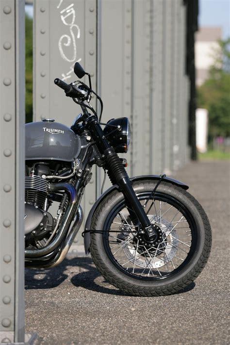 Q Bike Motorrad by Umgebautes Motorrad Triumph Bonneville T100 Von Q Bike