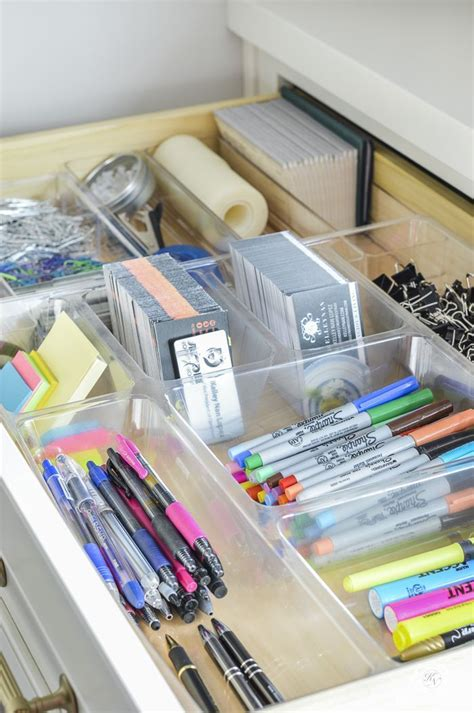 tips for organizing best 25 office supply organization ideas on pinterest