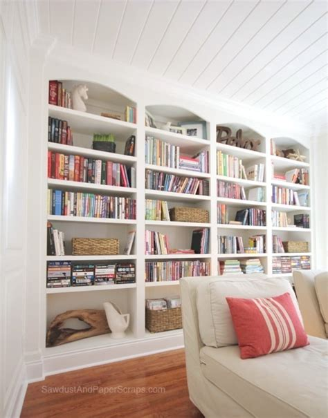 library built in bookshelves how to quot style quot bookshelves style sawdust paper scraps