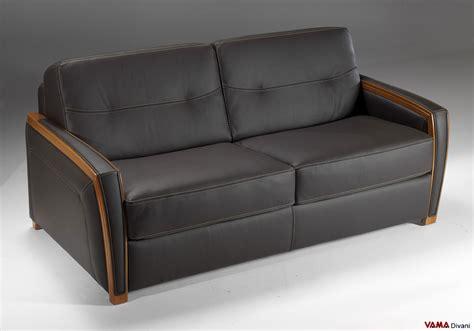 divani letto in pelle divano letto matrimoniale moderno in pelle