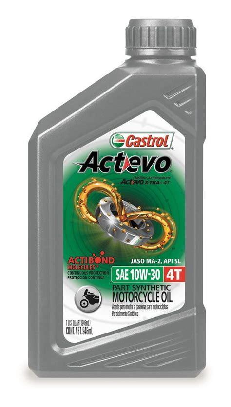 Wish 1 4t Cl 1 castrol actevo x tra semi synthetic 4t engine 11 1 17 revzilla