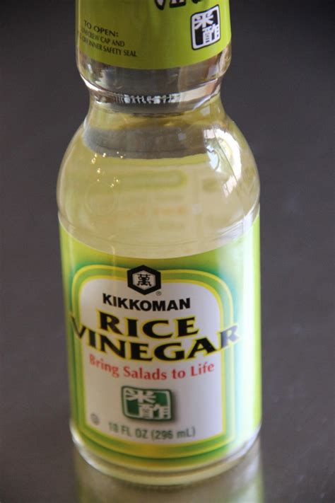 rice vinegar japanese cooking 101