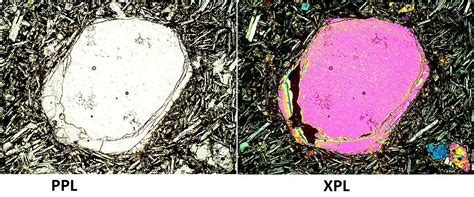garnet thin section properties thin sections earth and environmental sciences 330 with