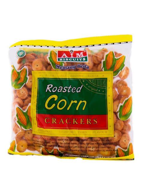 Pocky Tenun 1 aim crackers roasted corn pck 180g klikindomaret