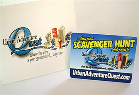 Adventure Quest Gift Card - things to do in a city gift card