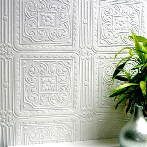 tile pattern paintable wallpaper anaglypta paintable paper tile wallsorts