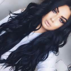 black hairstyles with color 17 best ideas about black hair colors on
