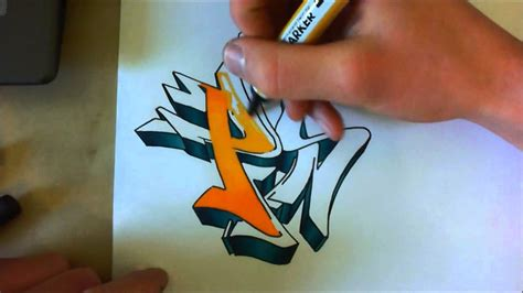 Tutorial Graffiti Coloriage Avanc 233 D 233 Grad 233 S Avec