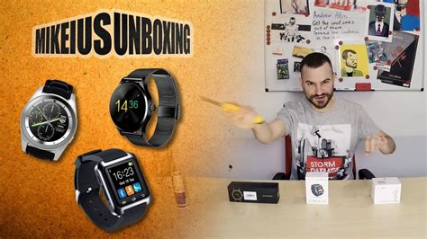 Smartwatches No 1 smartwatches no 1 g6 k88h mikeius unboxing