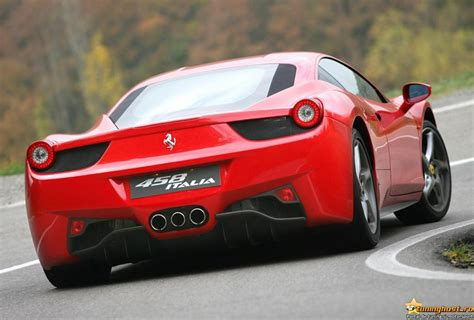 Car New Ferrari 458 Italia