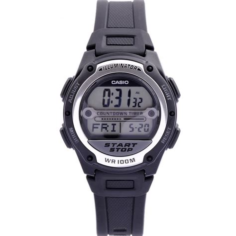 casio w 756 1aves s referee black digital