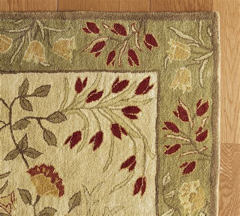 New Pottery Barn Handmade Adeline Multi Area Rug 8x10 Pottery Barn Rugs