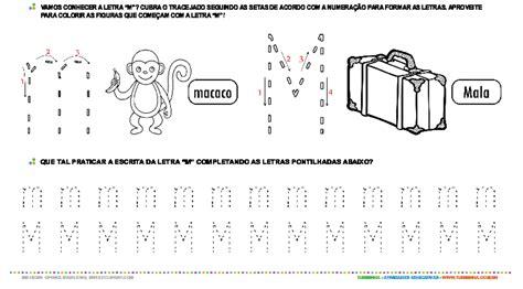 imagenes educativas letra m letra m de forma mai 250 scula e min 250 scula atividade
