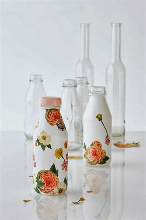 Decoupage Objects - 5 objects decorated with decoupage diy world