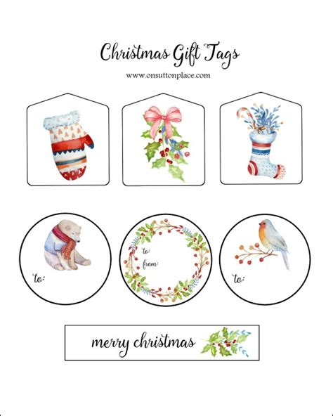 simple printable christmas gift tags easy christmas gift wrap ideas on sutton place