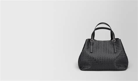 Bottega Nero Intreciatto Napa Tote Bag Handbag Tas Brande bottega veneta 174 large tote bag in nero intrecciato nappa
