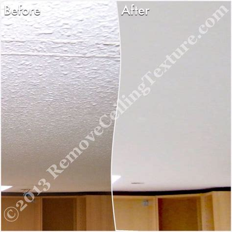 Update Popcorn Ceiling by This Vancouver Kitchen Gets An Update Simply By Removing The Popcorn Texture On The Ceilings