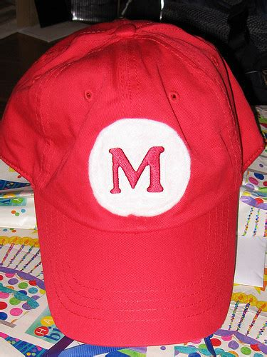 easy mario hat 183 how to make a baseball cap 183 embellishing