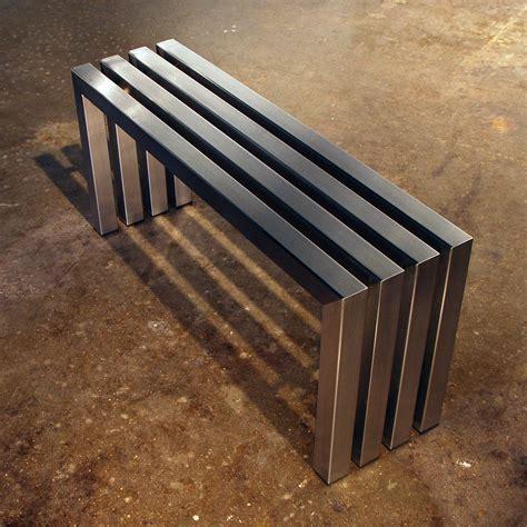 linear bench linear bench stainless steel 40 sarabi studio