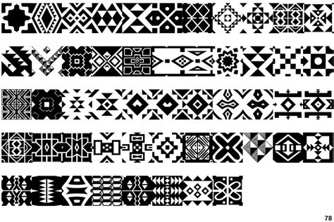 identifont zulu ndebele patterns one