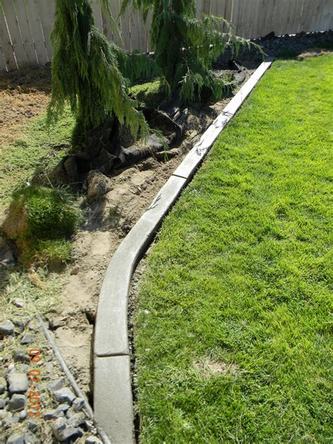concrete landscape edging diy landscaping curb home is where they you