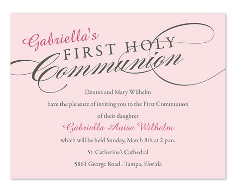 holy communion invitation templates holy communion invitations by invitation