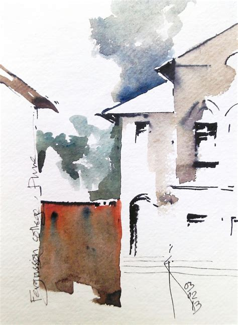 watercolor urban tutorial 75 best images about urban sketchers on pinterest