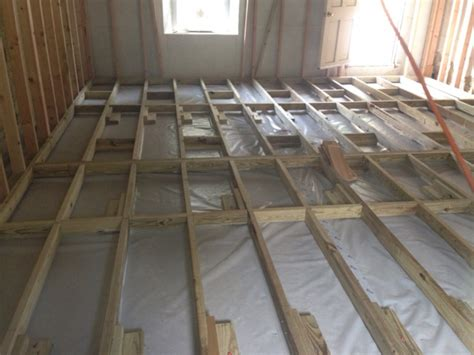 how to frame a floor how to get shed wood floor joists concrete slab