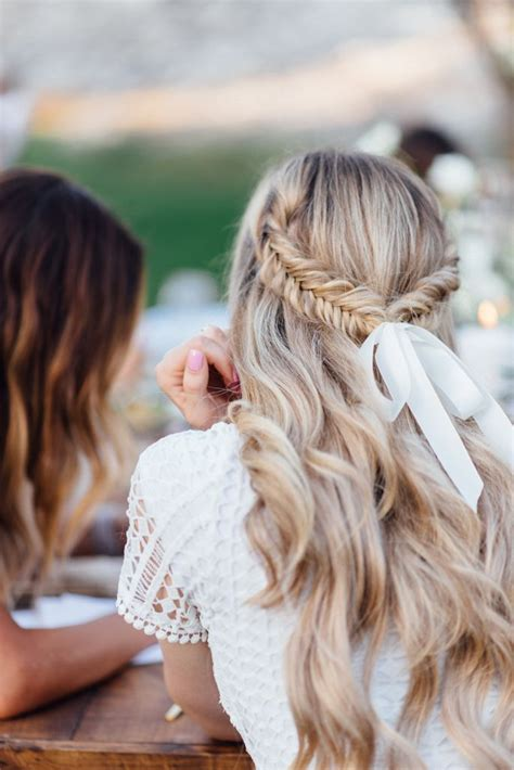 best 25 ribbon hairstyle ideas on
