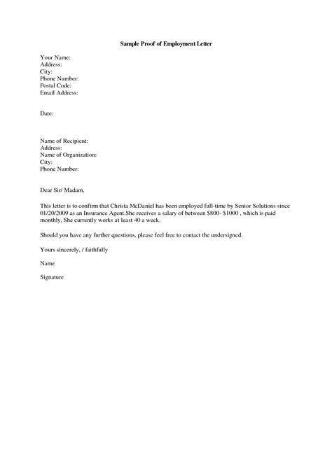 Employee Verification Letter Sle 97 Verification Of Employment Letter Sle By Smilingpolitely 7 Confirmation Of Address
