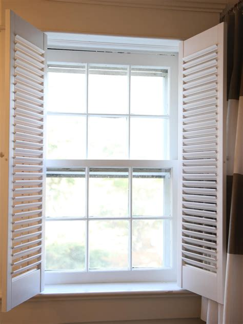 Interior Shutters For Windows Inspiration How To Install Interior Plantation Shutters How Tos Diy