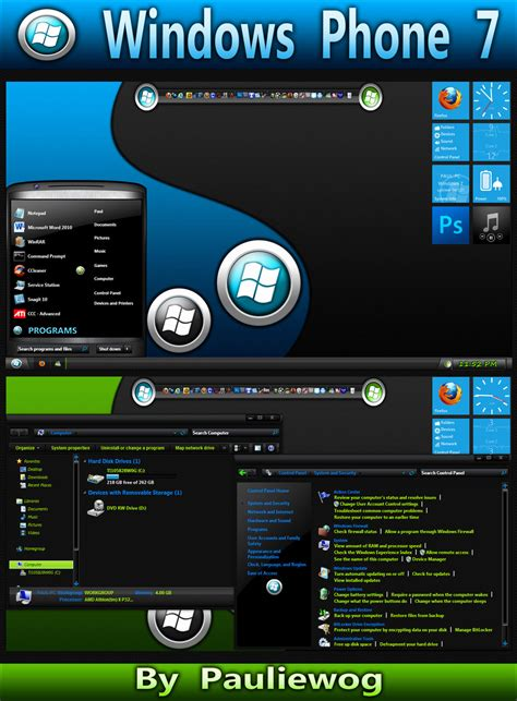 themes for windows 7 phone windows phone 7 theme by pauliewog260 on deviantart