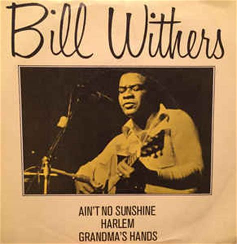 ain t no sunshine bill withers ain t no sunshine harlem vinyl at discogs