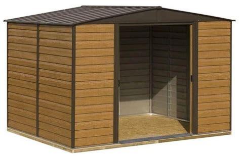 base rowlinson woodvale metal shed