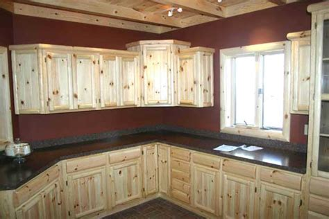 Unfinished Pine Kitchen Cabinets Unfinished Knotty Pine Kitchen Cabinets Roselawnlutheran
