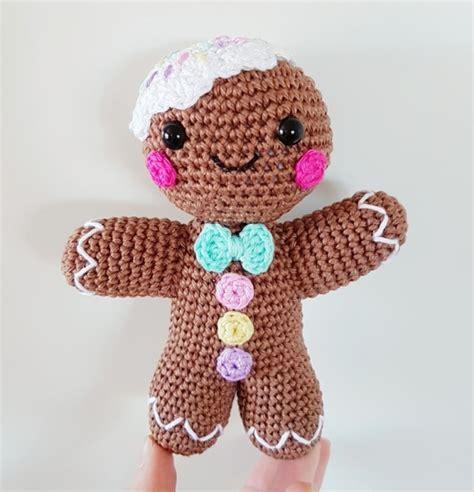 crochet pattern gingerbread man gingerbread man amigurumi pattern amigurumipatterns net