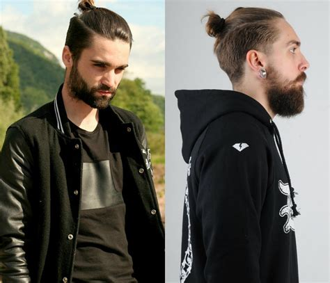 top knot mens hairstyles trendy sensual male top knots hairstyles haircuts and