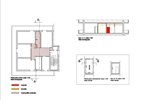 cambio di destinazione d uso con opere interne gabriele di carlo architetto progettazione